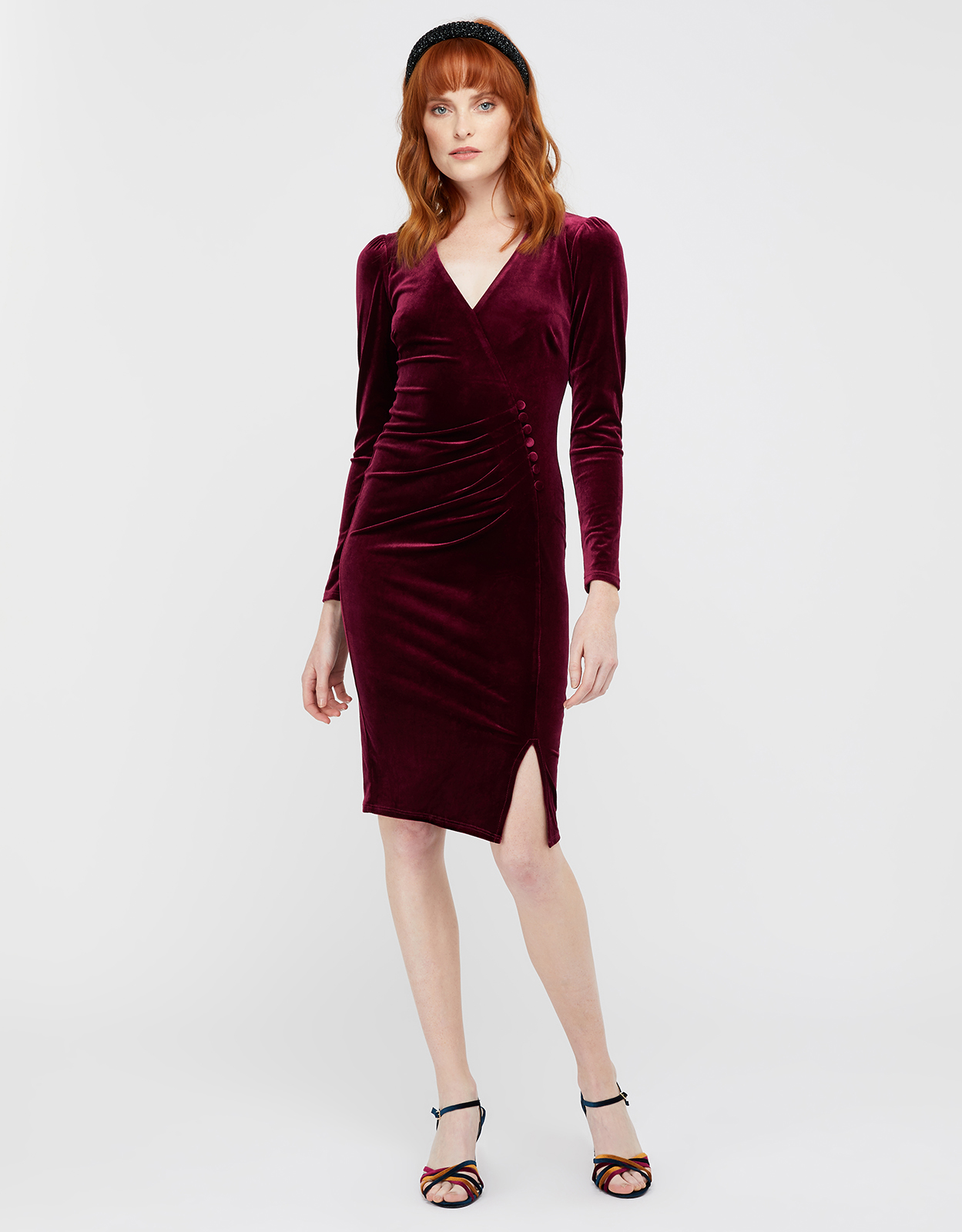 Monsoon ELLE VELVET DRESS