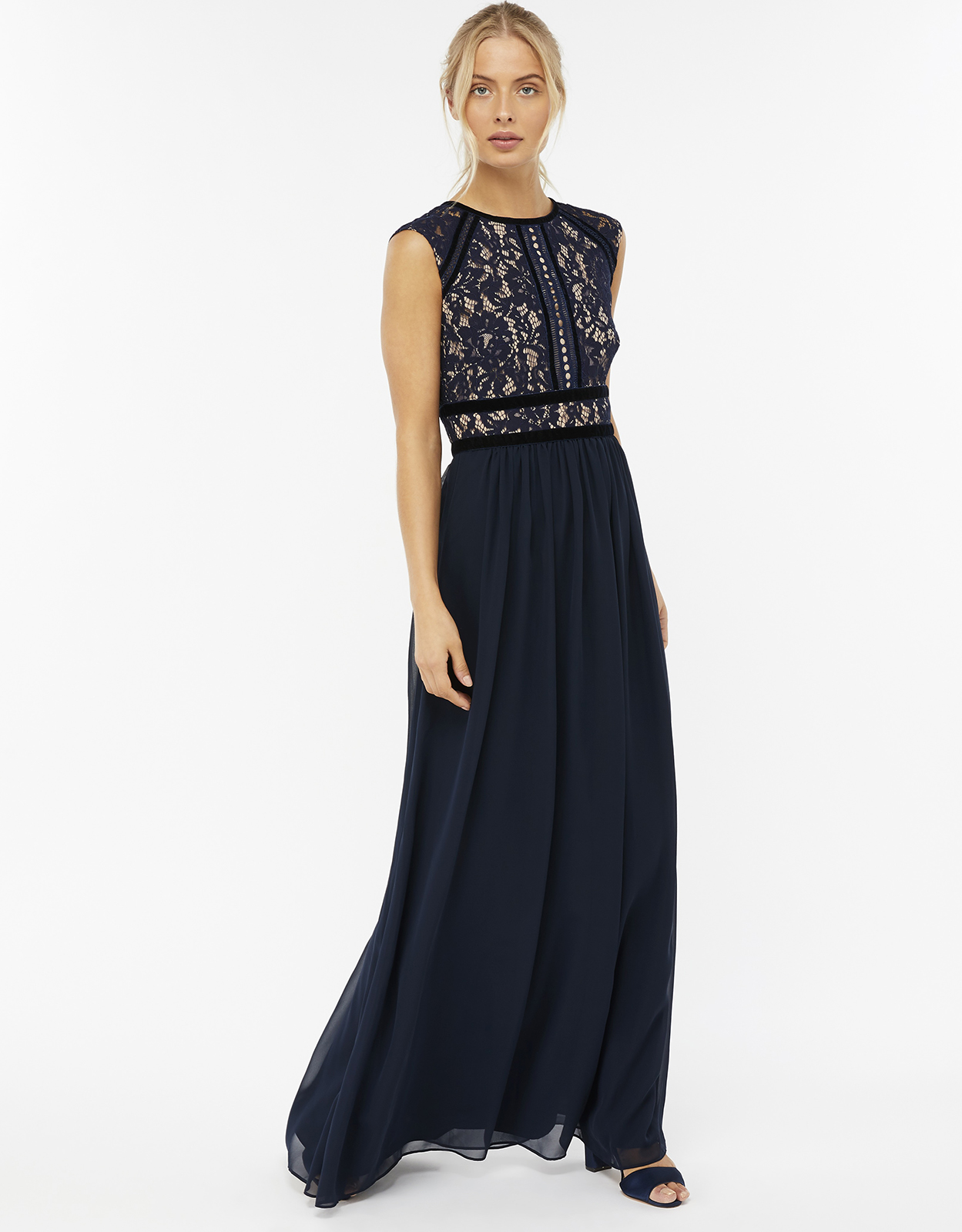 Monsoon Kate Lace Maxi Dress