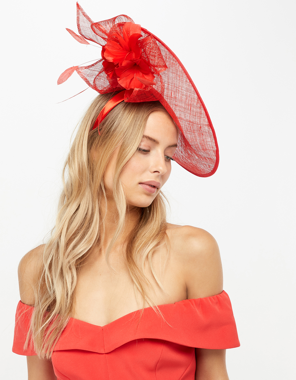 Monsoon Una Underbrim Flower Fascinator