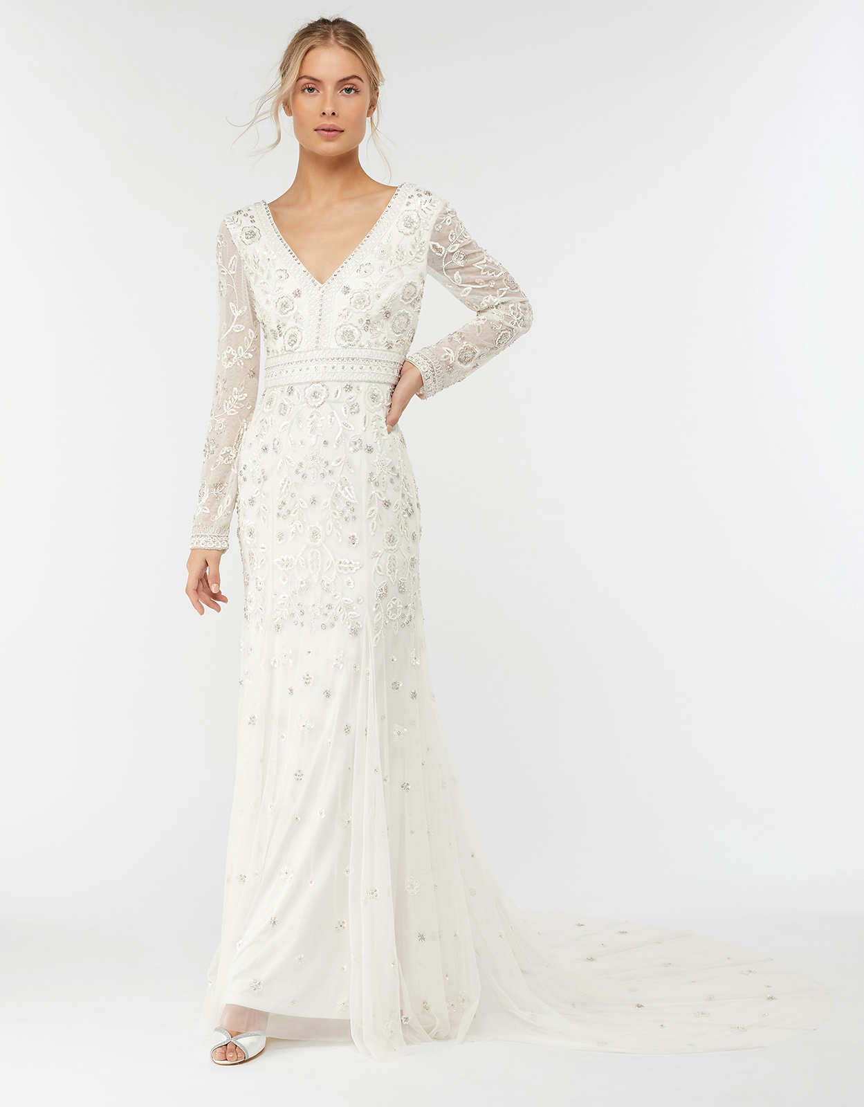Monsoon Elizabeth Embellished Wedding Dress