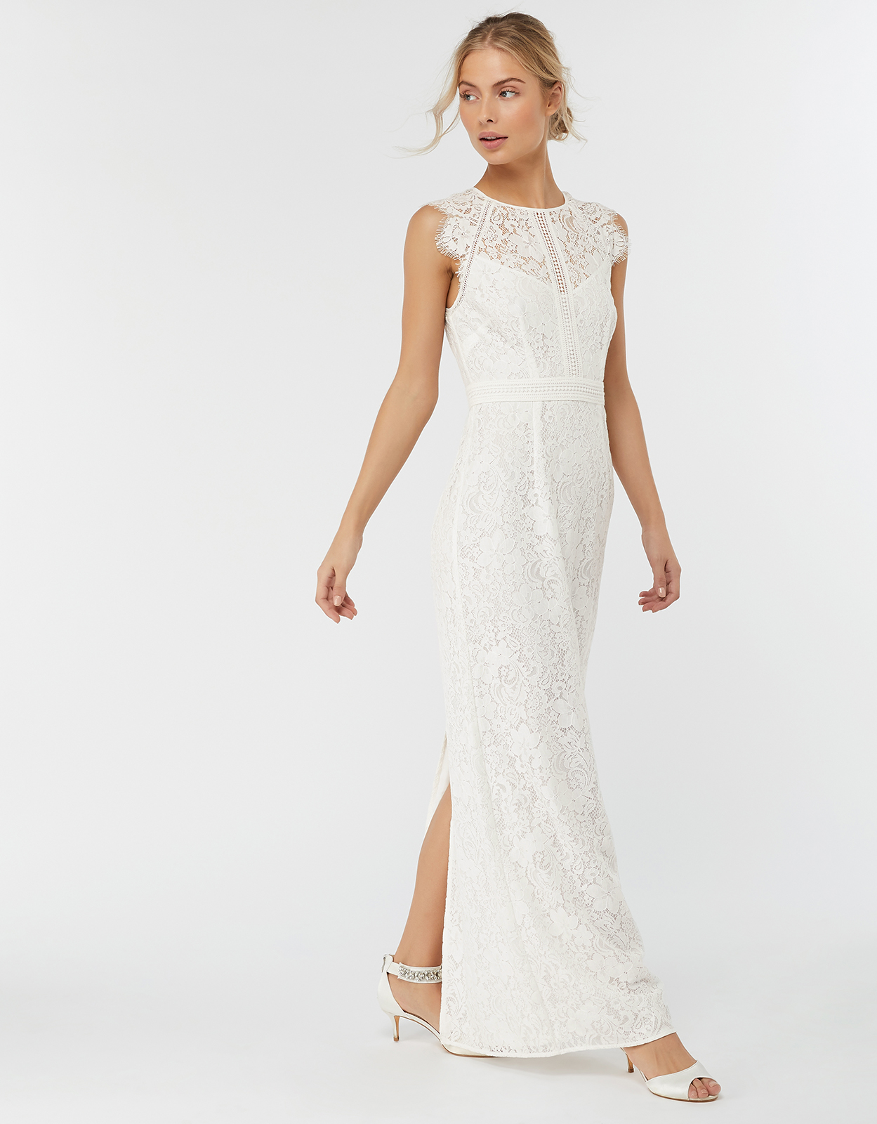 Monsoon Leomie Lace Maxi Dress