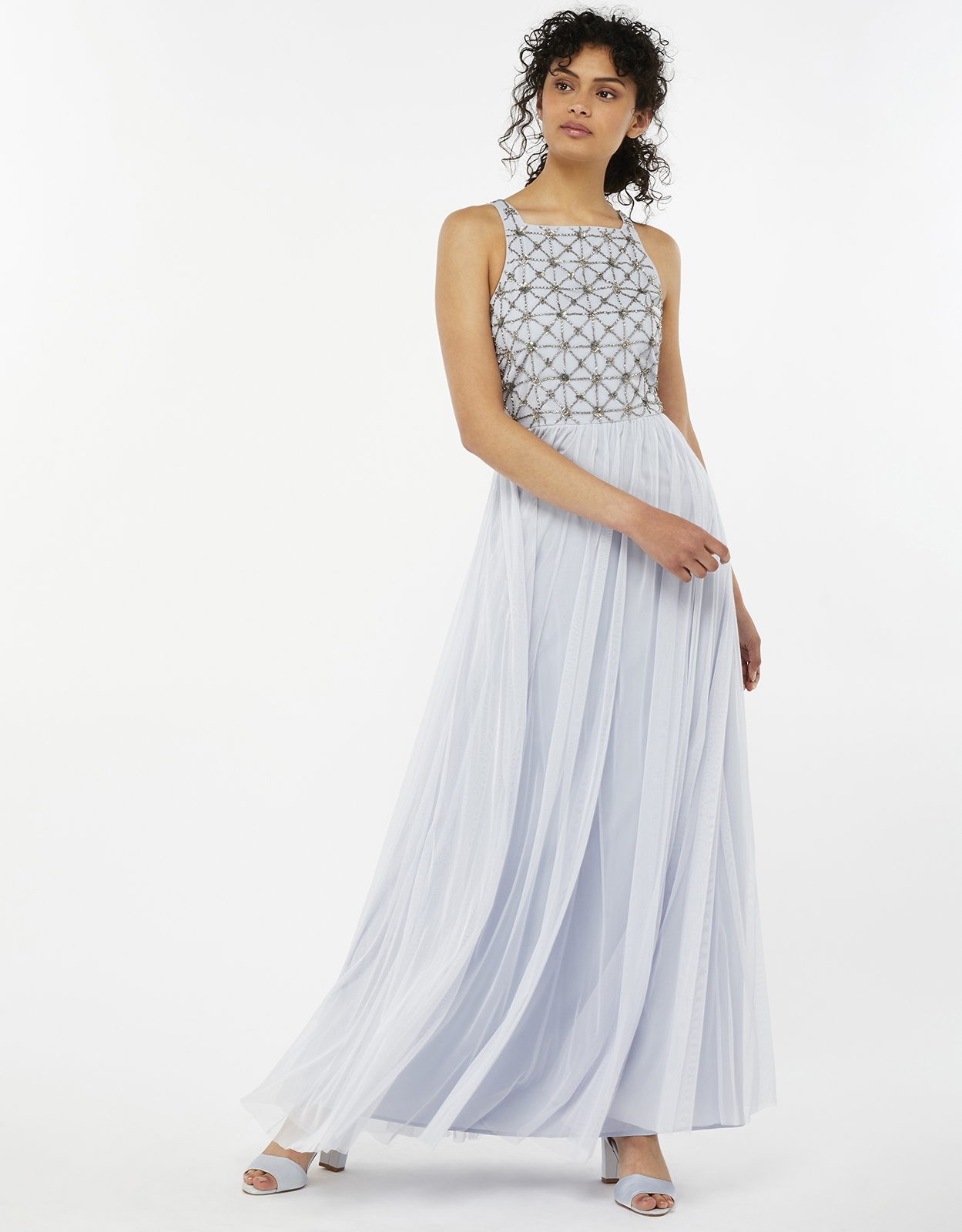 Monsoon Tiffany Embellished Maxi Dress