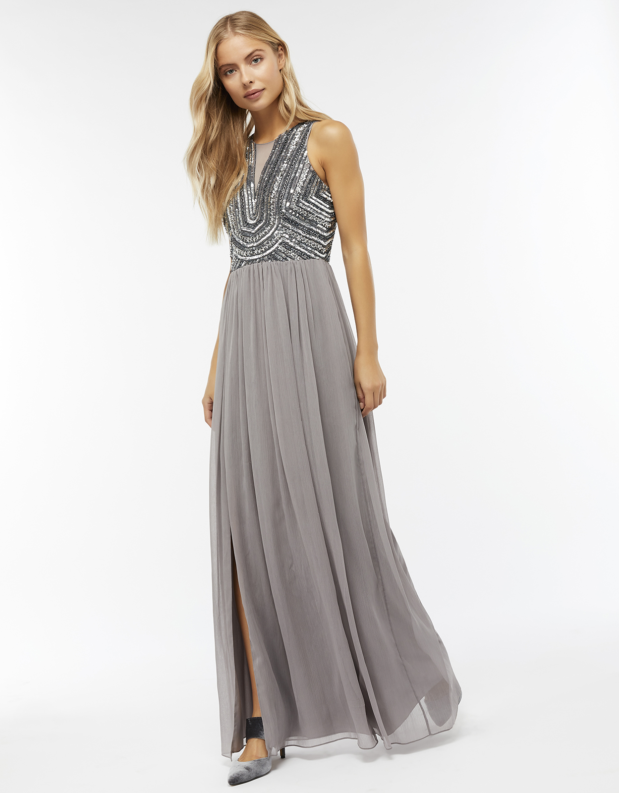 Monsoon Celeste Embellished Maxi Dress
