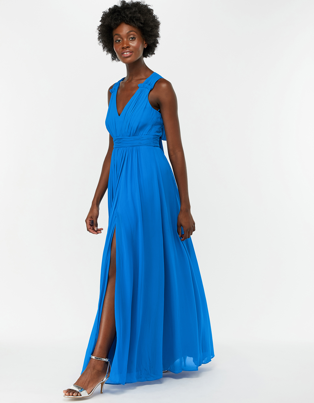 Monsoon Sinead Bow Back Maxi Dress