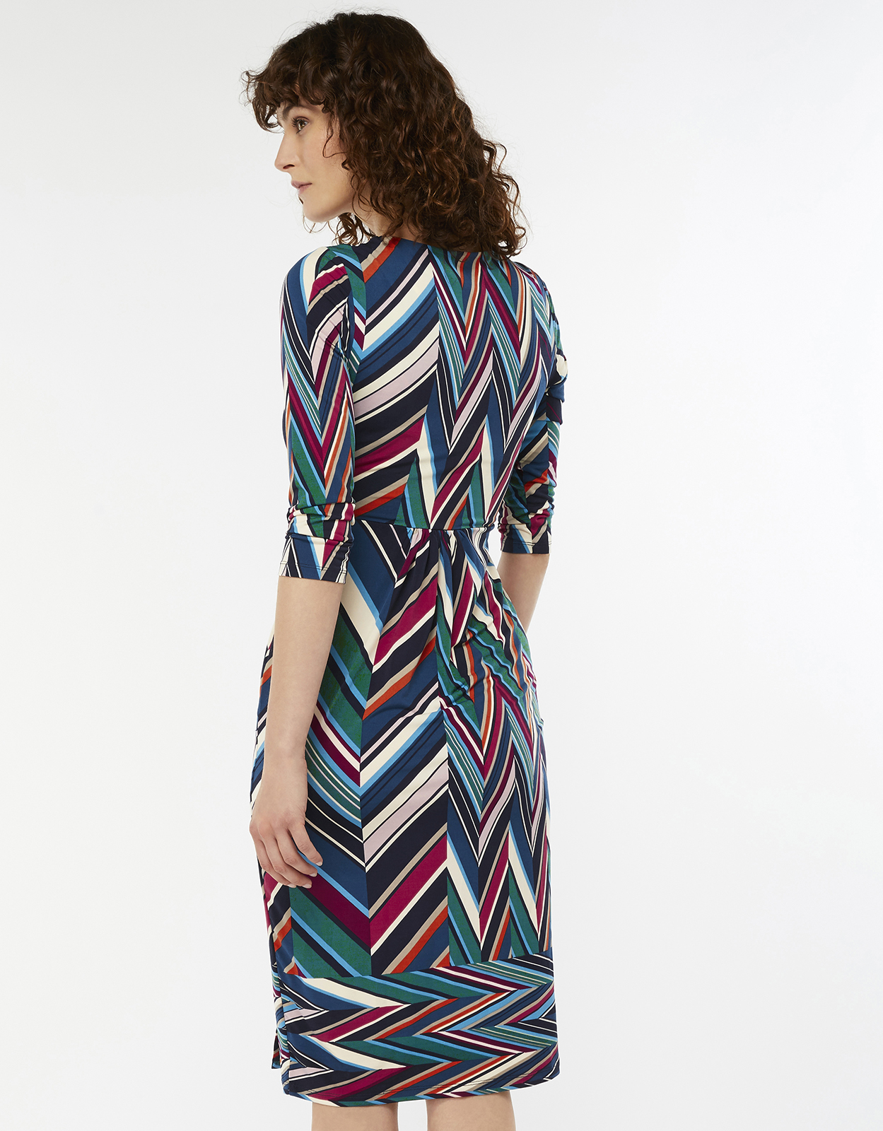 Monsoon Arabella Print Dress