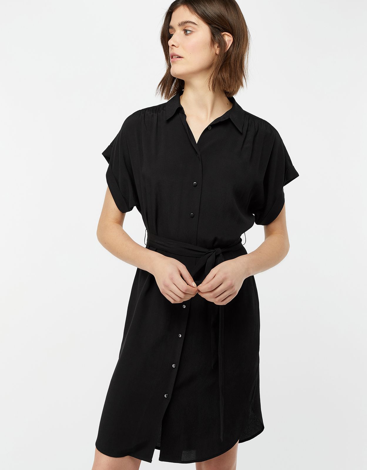 Monsoon Denny Plain Dress