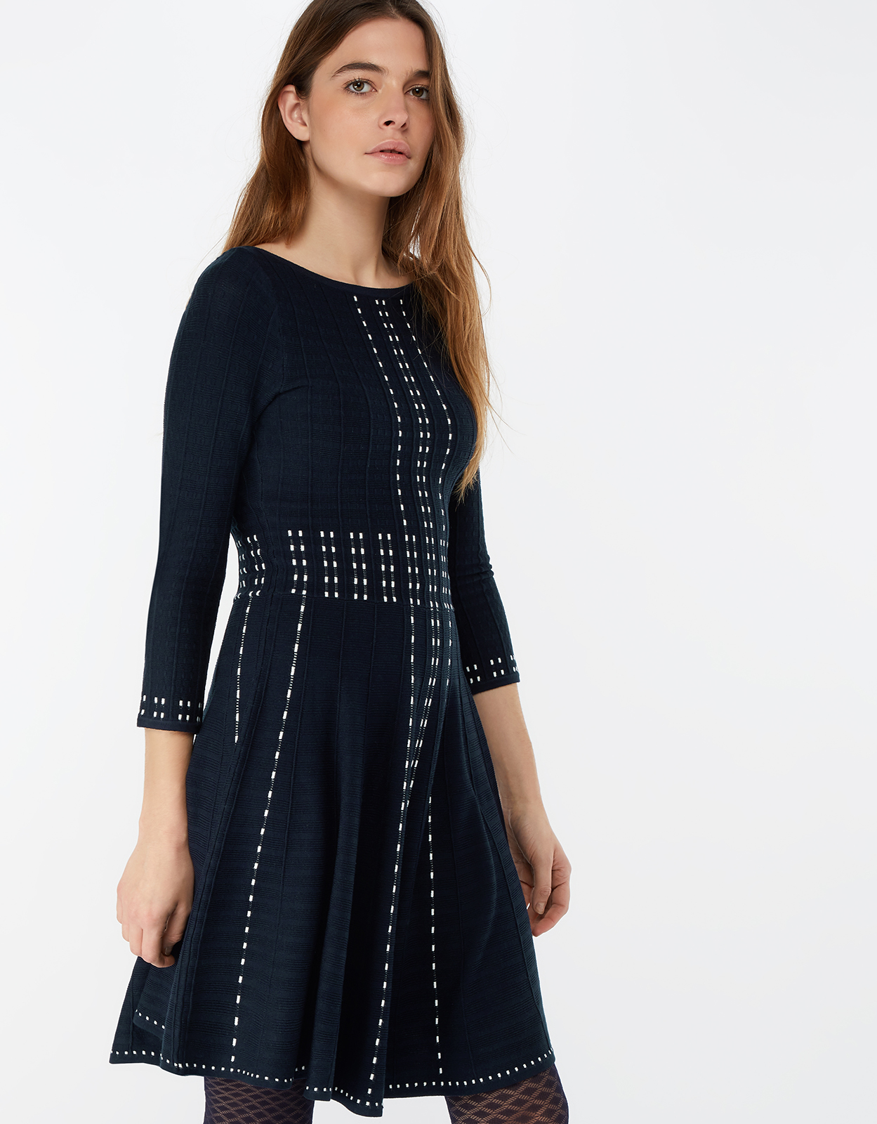 Monsoon Freja Fit & Flare Dress