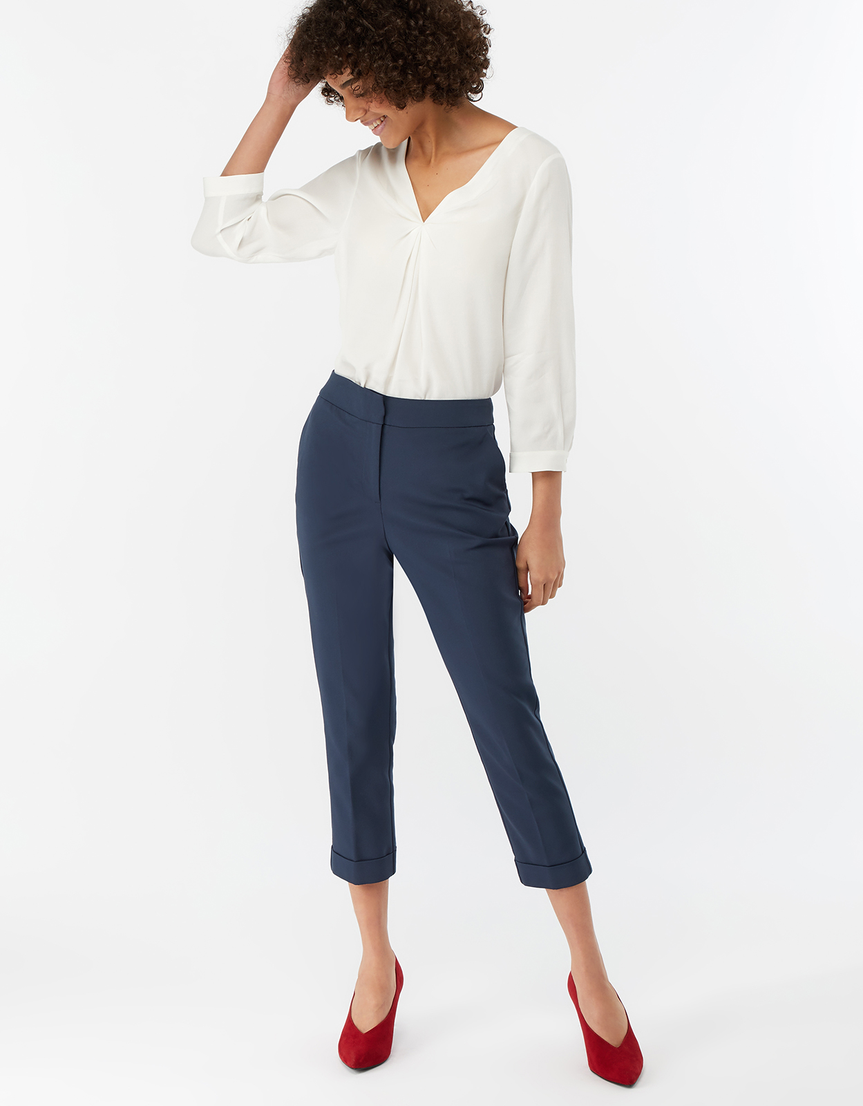 Monsoon Victoria Turn Up Trousers